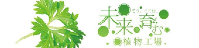 未来を育む 植物工場 諏訪菜