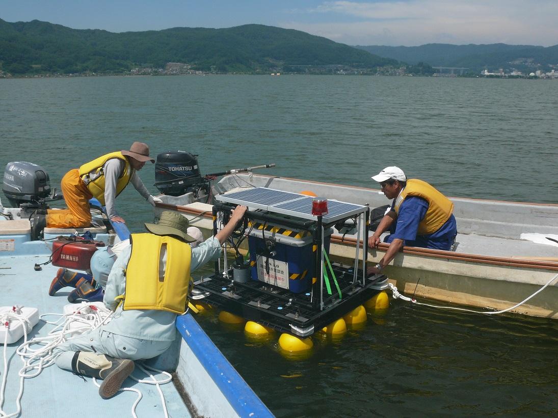 諏訪湖水質観測プロジェクト